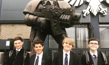 Ripon Grammar's elite tabletop battle gamers reach national finals