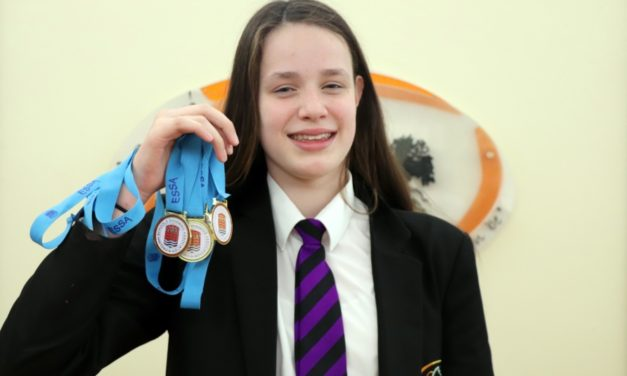 Stokesley School swimming star takes double-gold in English championships