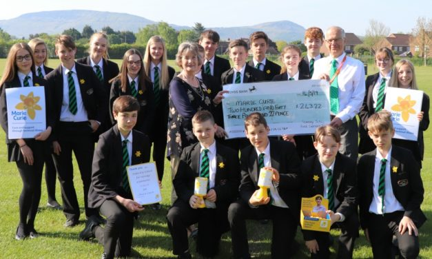 Stokesley Students support Marie Curie