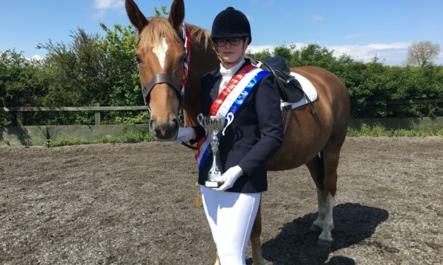 Top honours for Emily at national dressage championship
