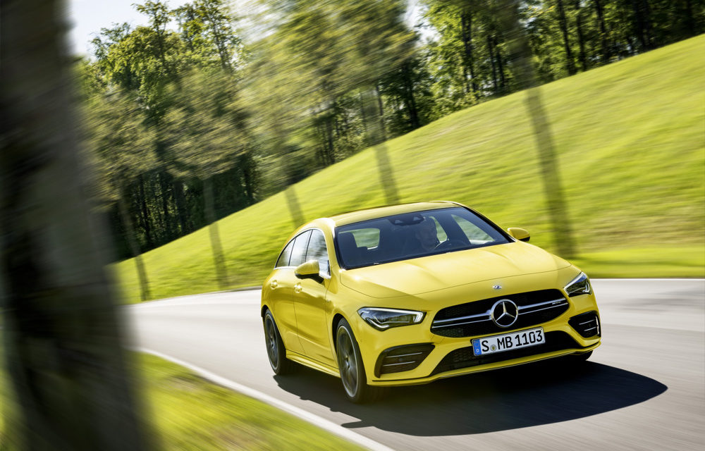 THE NEW MERCEDES-AMG CLA 35 4MATIC SHOOTING BRAKE