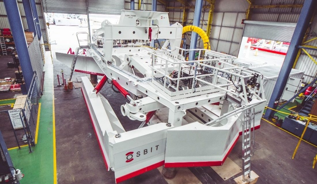 Osbit delivers class leading subsea plough to Global Marine Group