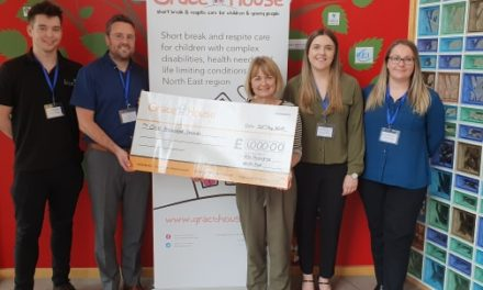Kite Packaging donates £1,000 to Grace House