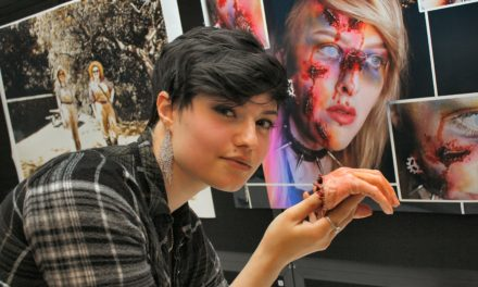 Talented young artists showcase final work