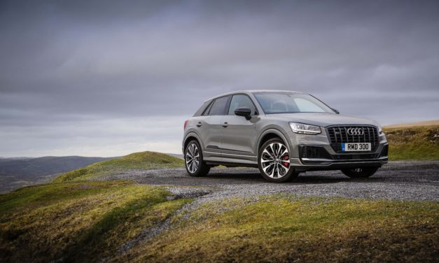 Leaving others in the Audi SQ2's wake