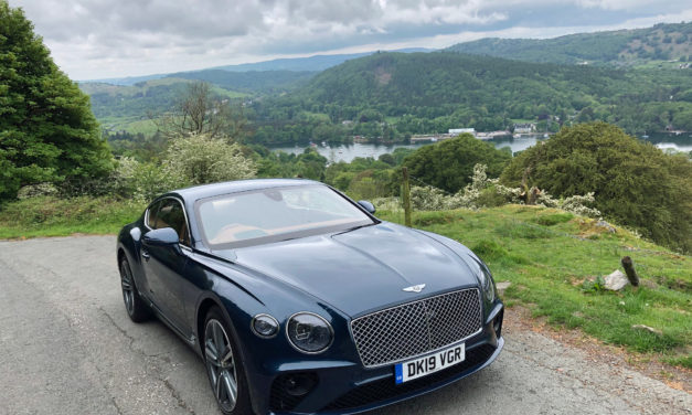 Sharing the love in the new Bentley Continental GT