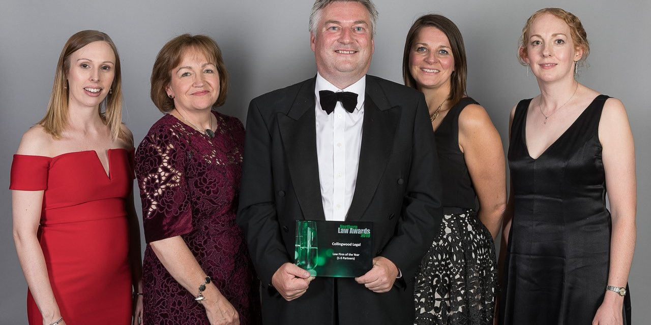 COLLINGWOOD LEGAL WINS AT NORTHERN LAW AWARDS 2019