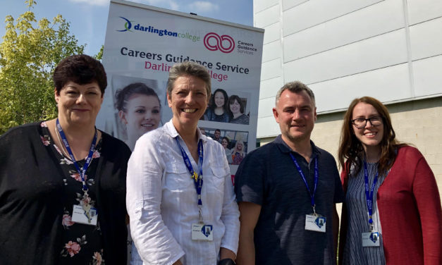 College staff awarded for steering students on the road to work