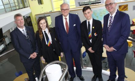 Lord takes the opportunity to tour academy