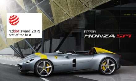FERRARI TAKES THE RED DOT: BEST OF THE BEST AWARD FOR THE MONZA SP1