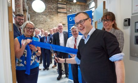 Matthew Gould opens Great North Care Record new offices