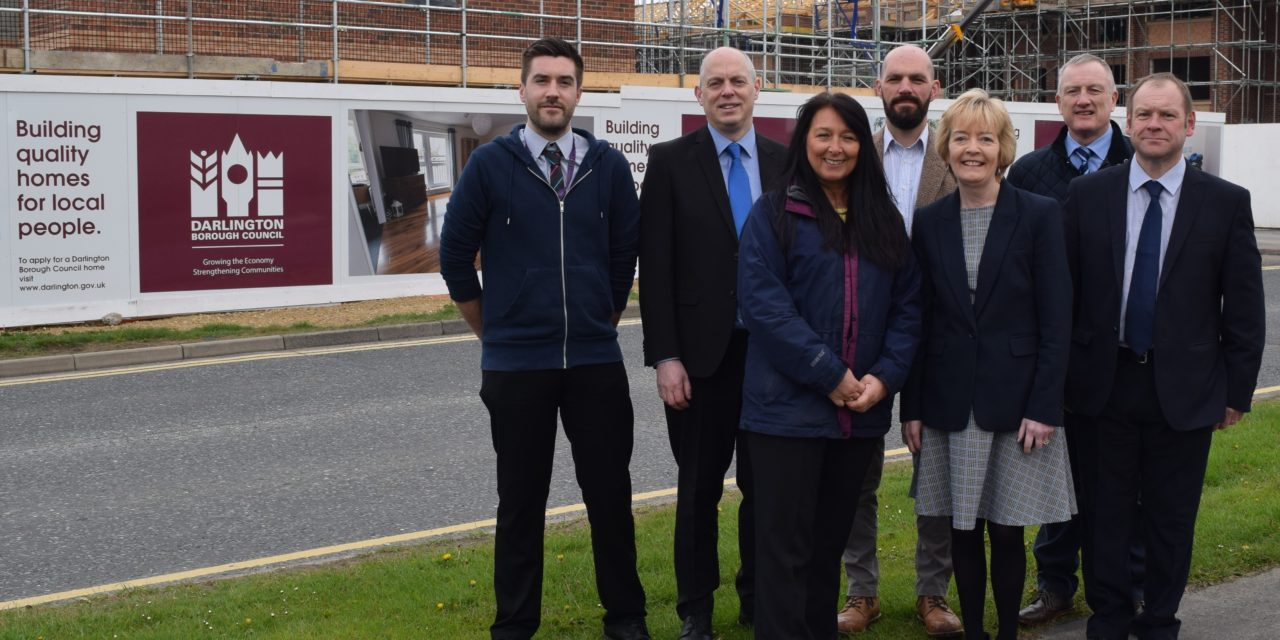 Council's new homes programme scoops national award