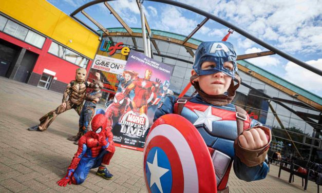 Marvel Super Heroes fly North to join forces with scientists