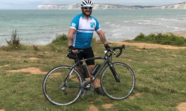 Charity fundraiser takes on epic 50-day cycle challenge across the country for the MS Trust
