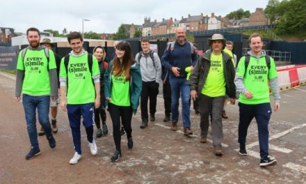 Everyman charity team visits Milburngate cinema site in Durham as part of nationwide fundraising walk