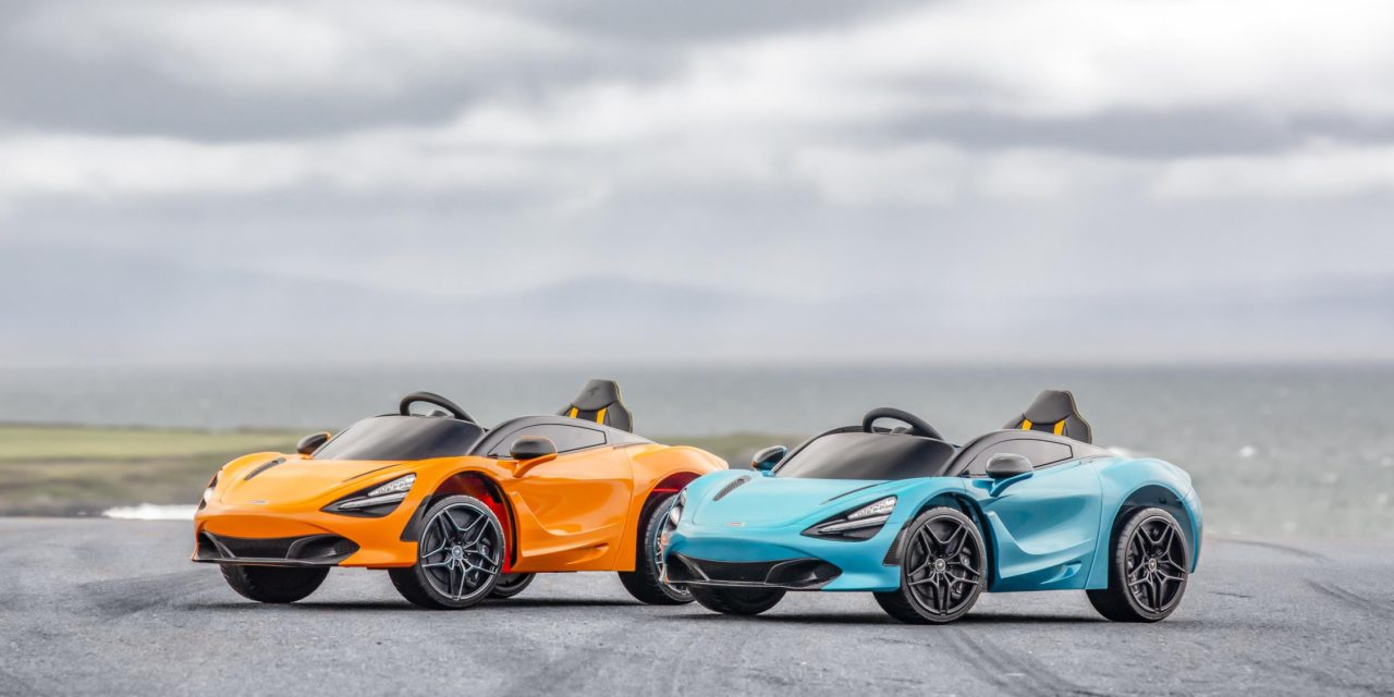 NEW McLAREN 720S 'RIDE-ON' SET TO ELECTRIFY NEXT GENERATION OF SUPERCAR ENTHUSIASTS