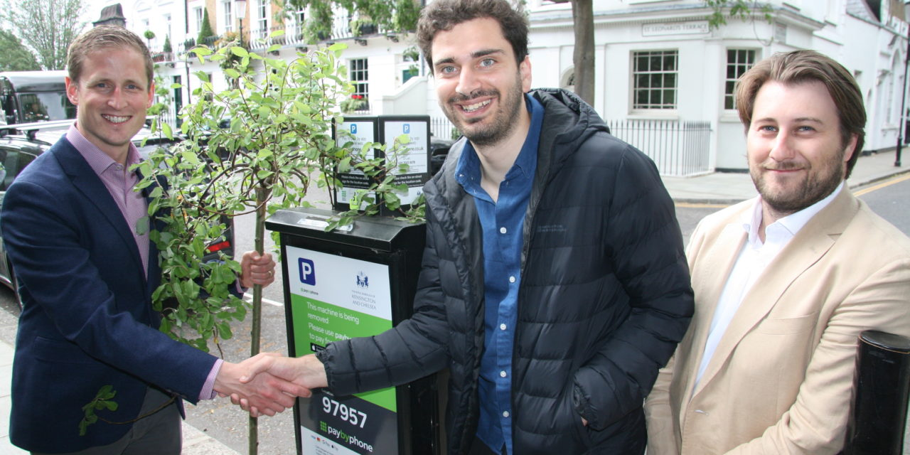 Kensington and Chelsea swaps parking meters for trees in a bid to improve air quality