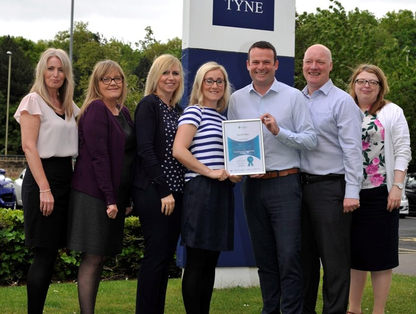 Port of Tyne continues to strive for excellence in its drive towards better health at work