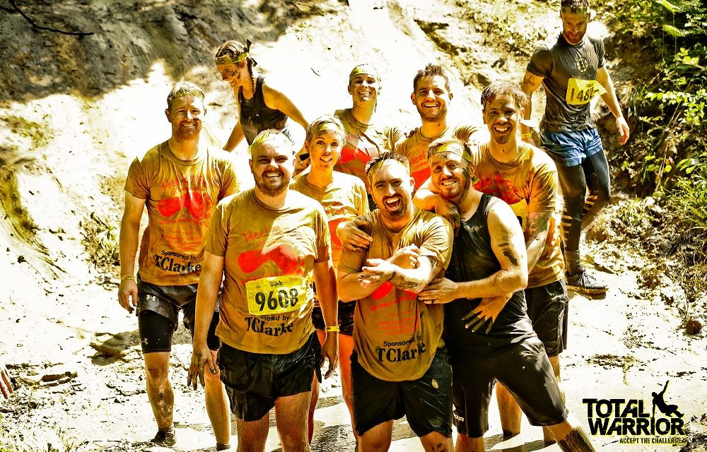 Blazing a muddy trail for Heel & Toe Children's Charity