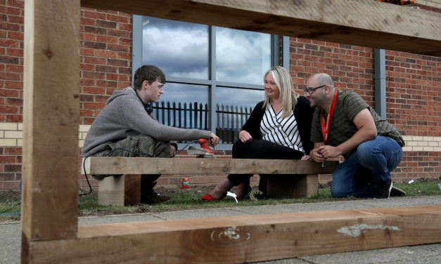 Steel fund backs youngsters community garden project