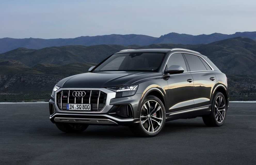 BITURBO V8 WITH TITANIC TORQUE – THE NEW AUDI SQ8 TDI