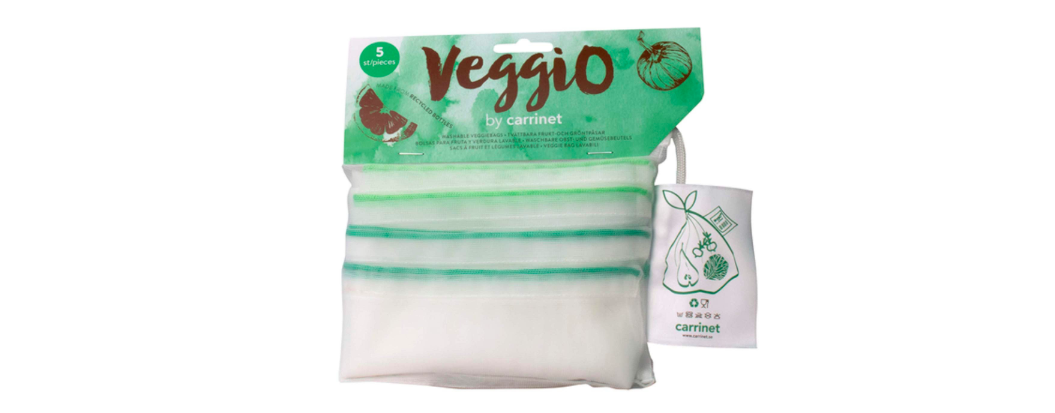 Carrinet Veggio Made From 100% Recycled Plastic Bottles