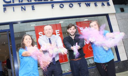 Hospice fundraisers show their true colours