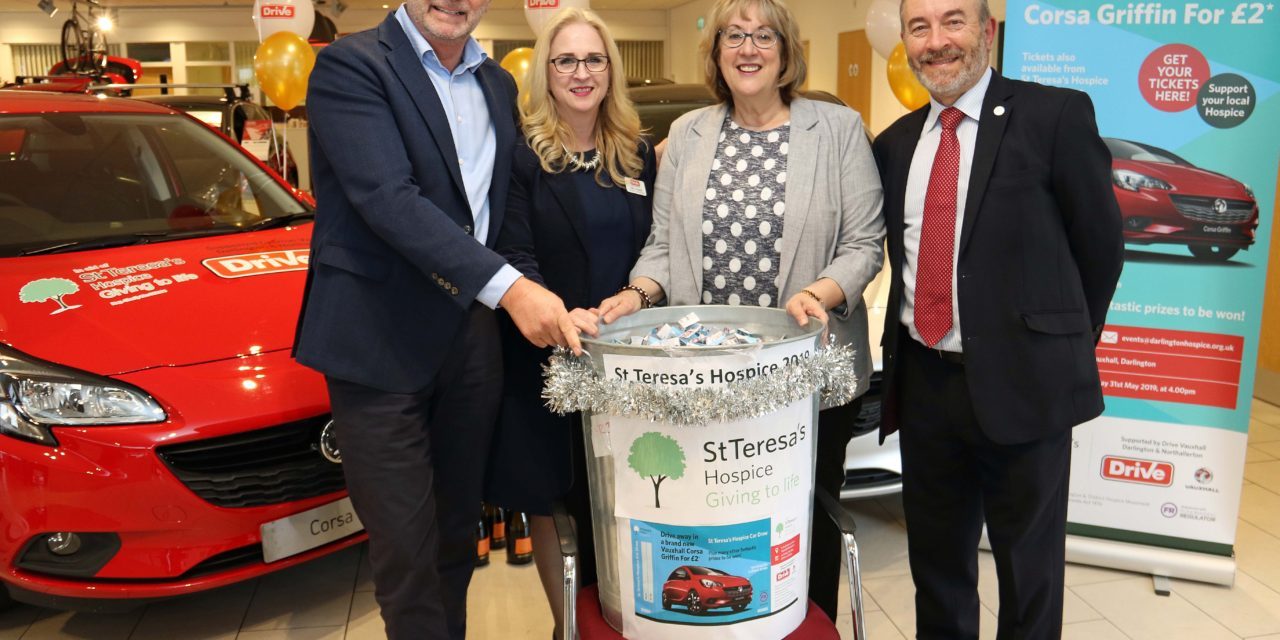 Car raffle boosts hospice charity drive