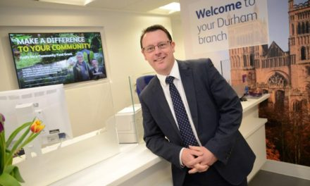 Newcastle Building Society receives customers' seal of approval as it passes midpoint of network-wide branch improvement programme
