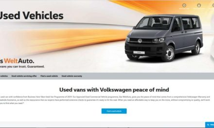 VOLKSWAGEN COMMERCIAL VEHICLES LAUNCHES USED VAN FINANCE CALCULATOR TO HELP CUSTOMERS PICK THE PERFECT MODEL