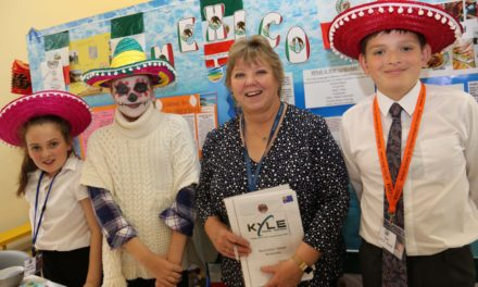 Pupils go on round-the-world tour without leaving school hall