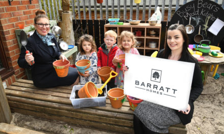 Housebuilder teams up with local pupils to help County Durham bloom