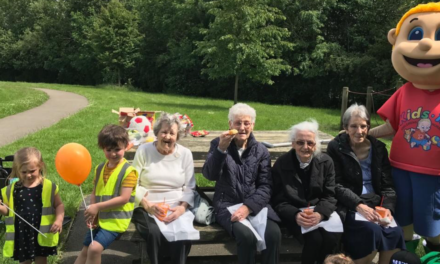 International Picnic Day brings young and elderly together
