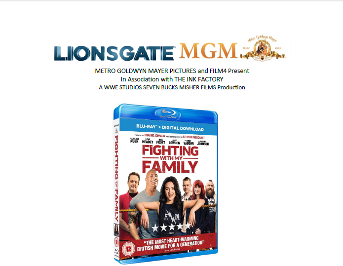 FIGHTING WITH MY FAMILY – out on DVD, Blu-ray and Digital