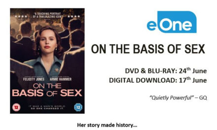 ON THE BASIS OF SEX – DVD, Blu-ray, Download this June