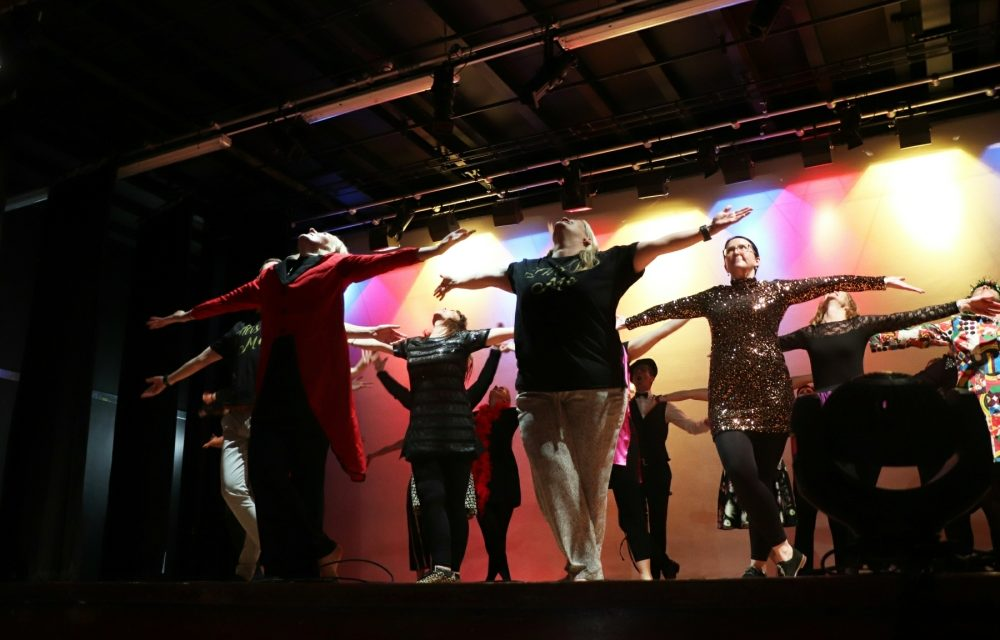 Staff surprise students with live leavers' video performance at Prom!