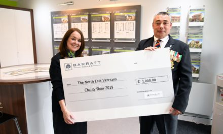 Local housebuilder supports Veteran Charity Show with community funding initiative