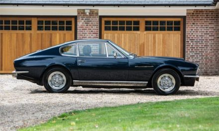 ACTOR AND COMEDIAN STEVE COOGAN TO SELL HIS 1970 ASTON MARTIN DBS V8 PRESS CAR AT THE SILVERSTONE CLASSIC SALE