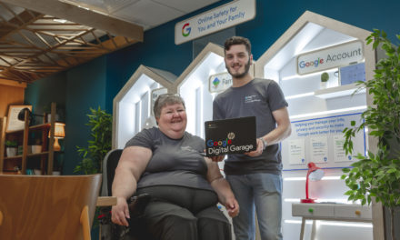 Digital skills bring Brad and Jenn back together on Wearside