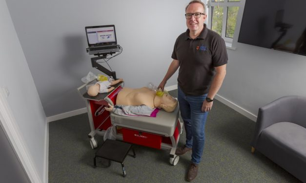 World first sees Sunderland paramedic students using pioneering tech to save lives