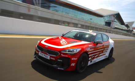 POWER TO SURPRISE – KIA PRESENTS ONE-OFF 'STINGER GT420' TRACK CAR
