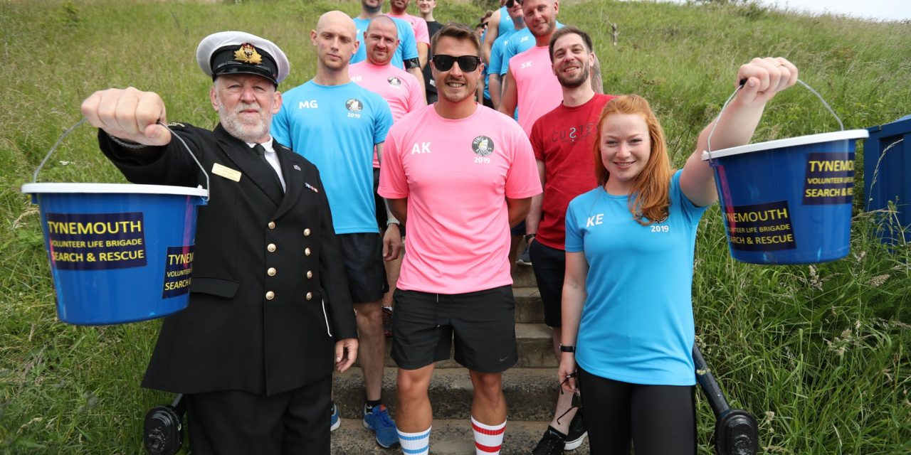 Stairs challenge raises over £4,000 for coastal lifesaving charity