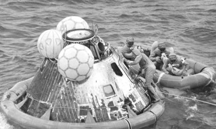 This Week in NASA History: Apollo 11 Splashes Down – July 24, 1969