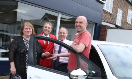Over £28,000 raised for Friends of the Friarage as Thirsk man wins brand-new car!