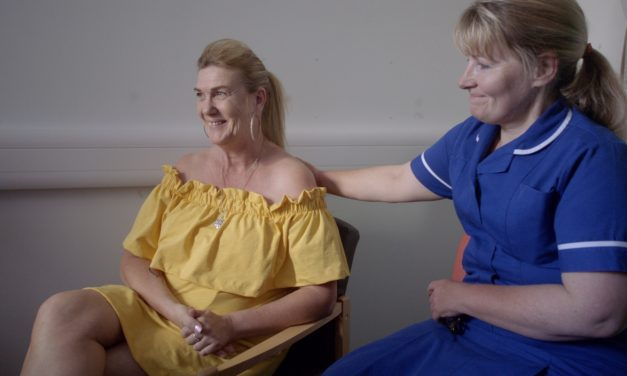 NEWCASTLE CANCER PATIENT STARS IN NEW TV AD