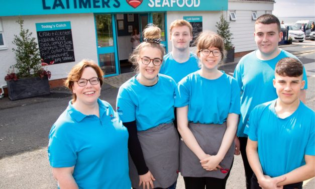 The future is very bright for the the next cohort of Latimer's Seafood's academy of life.