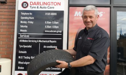 Free tyre safety check for Darlington drivers