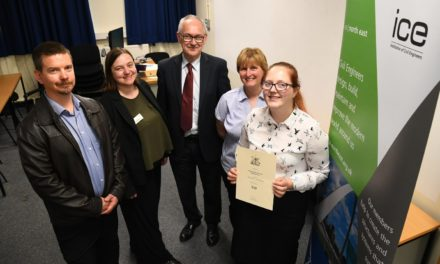 Teesside engineer wins recognition