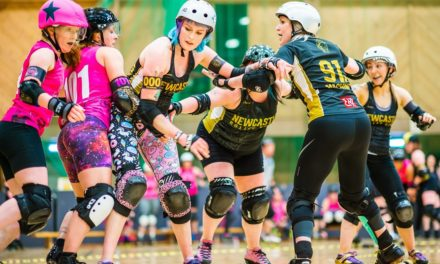 Newcastle Roller Girls compete in European Cup thanks to Venator funding