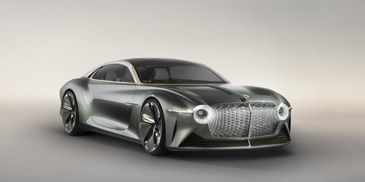 BENTLEY REIMAGINES THE FUTURE OF GRAND TOURING WITH THE EXTRAORDINARY BENTLEY EXP 100 GT